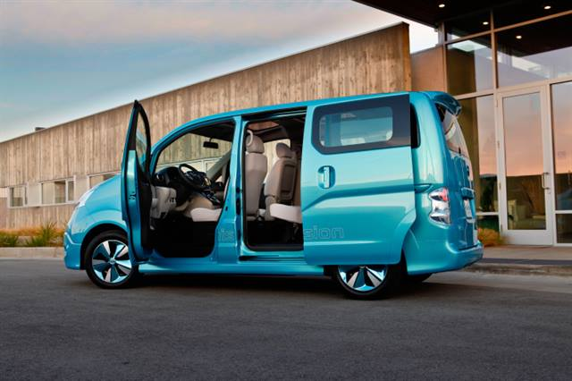 Nissan debuted its e-NV200 Concept this week in Detroit.