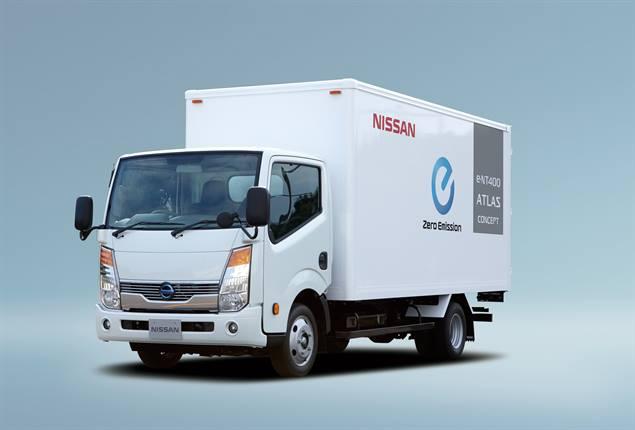 Nissan eNT400 Atlas concept