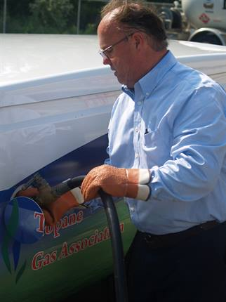 Onsite propane autogas dispensing helps eliminate off-site trips for drivers.