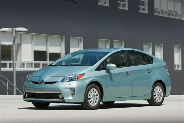 Photo of Prius Plug-In courtesy of Toyota.
