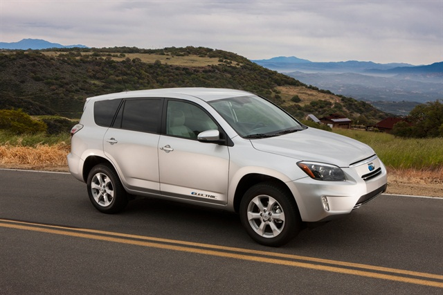 The RAV4 EV will go on sale in late summer 2012 through select dealers, initially in four major California metropolitan markets including Sacramento, San Francisco Bay Area, Los Angeles/Orange County, and San Diego.