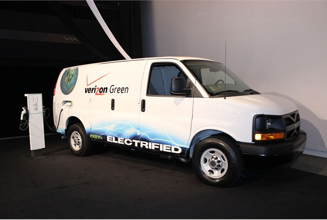 Pickup trucks and cargo vans are two of the most widely used vehicles in Verizon's fleet.