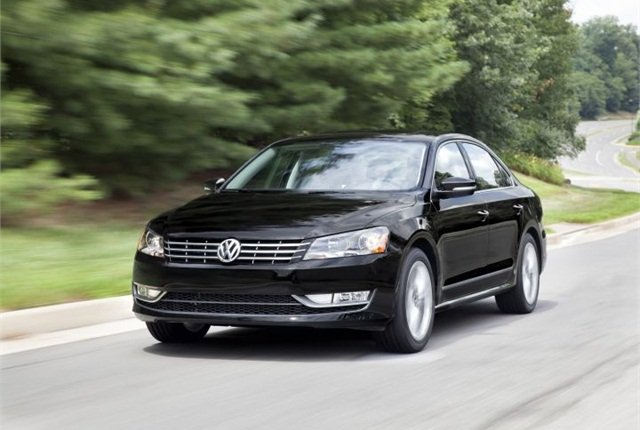 Photo of Passat with 1.8L TDI courtesy of VW.