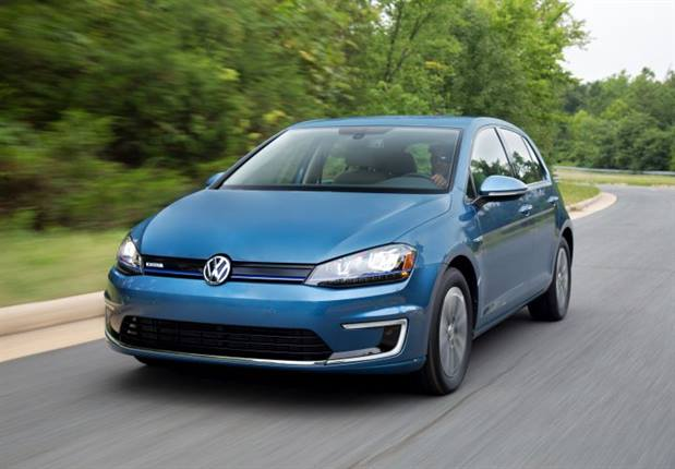 Photo of 2015 e-Golf courtesy of VW.