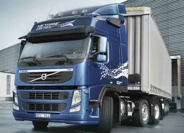 Volvo FM MethaneDiesel truck