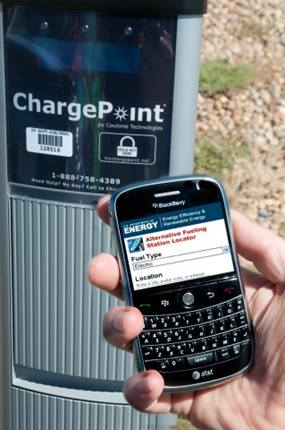 Clean Cities' alt-fuel station locator mobile application