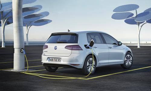 The Volkswagen e-Golf.Photo courtesy Volkswagen