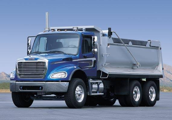 Freightliner Business Class M2 112 compressed natural gas (CNG) truck
