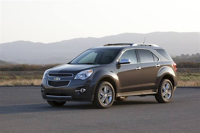2014 Chevrolet Equinox. Photo courtesy of GM.