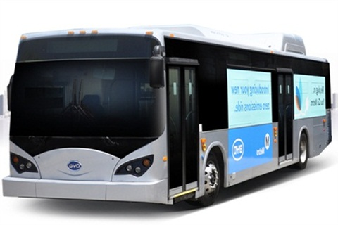 BYD's 12-meter bus has logged approximately 14 million emissions-free miles around the world. The company recently unveiled an 18-meter, articulated version of the bus.