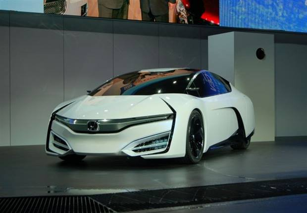 Honda showed its FCEV Concept at the L.A. Auto Show.
