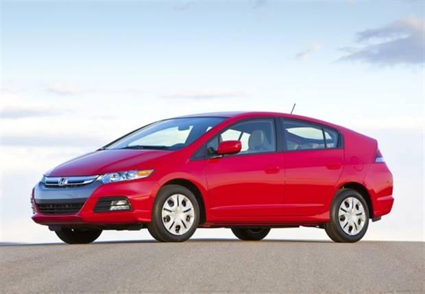 Photo of 2014 Insight courtesy of Honda.