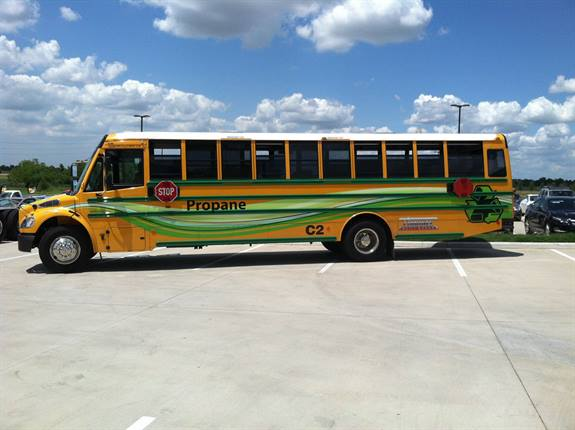 Houston, Texas has converted many of its fleets to propane autogas in an effort to reduce pollution in the seventh smoggiest U.S. city.