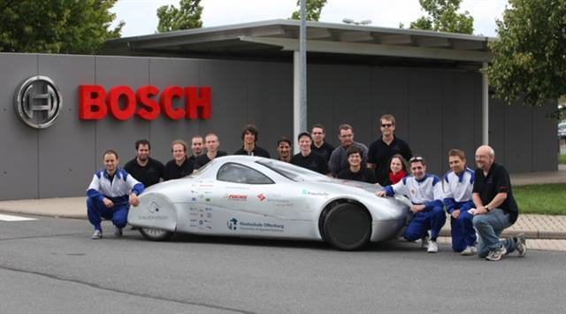 The record-setting Schluckspecht E team