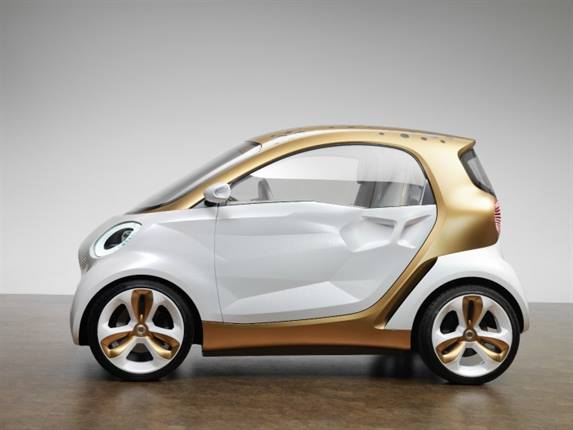 The smart forvision concept car