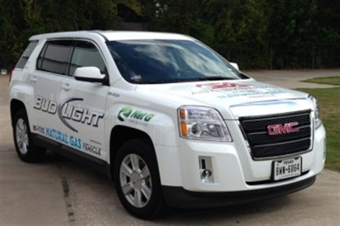 This 2013 model GMC Terrain is outfitted as a Cargo version and is owned by Silver Eagle Distributing in Houston, Texas. Photo courtesy of Nat G.