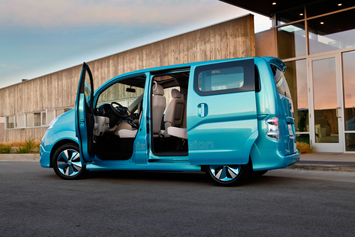 Nissan e-NV200 Concept Provides Glimpse of Future Electric Van