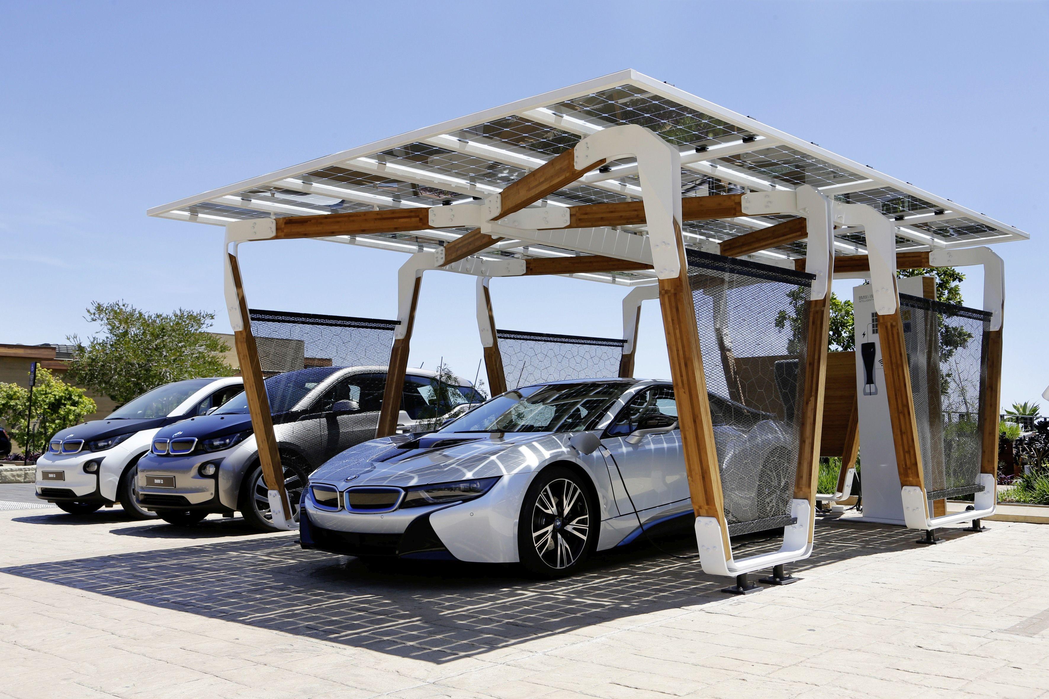 BMW Designs Solar Carport Concept
