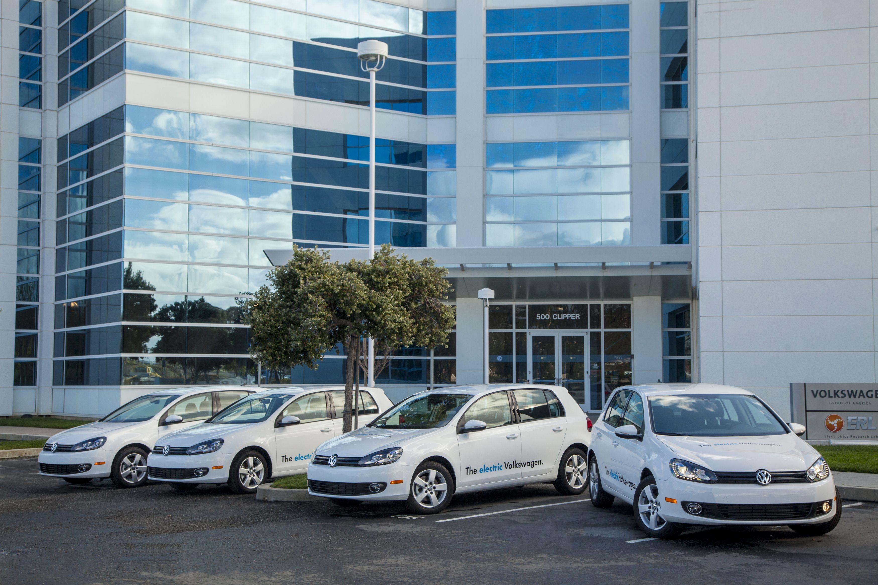 Volkswagen Testing Battery-Electric Golf Prototype