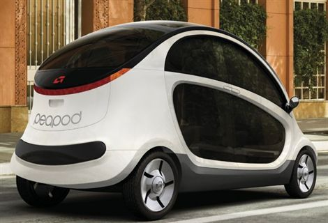 GEM Introduces Peapod Neighborhood Electric Vehicle - Electric