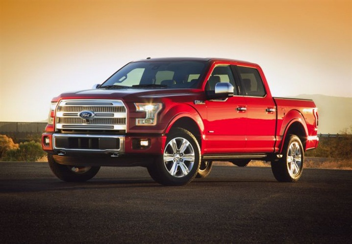 Ford Reduces Weight, Increases MPG with  Aluminum F-150 Debut