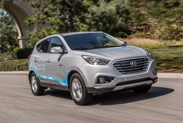 Photo of 2016 Tucson Fuel Cell courtesy of Hyundai.