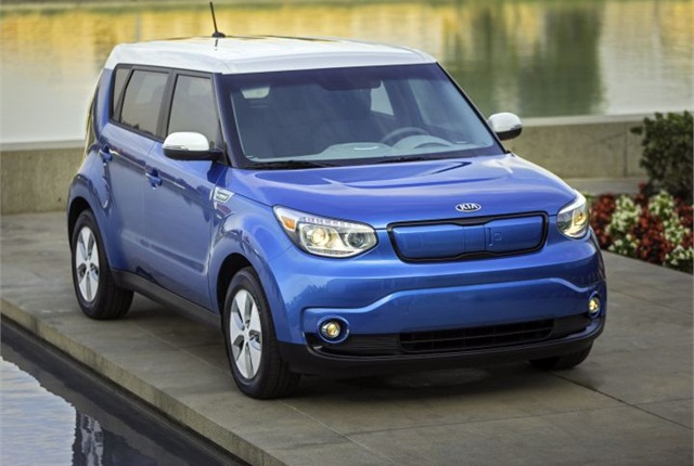 Photo of 2016 Soul EV courtesy of Kia Motors.