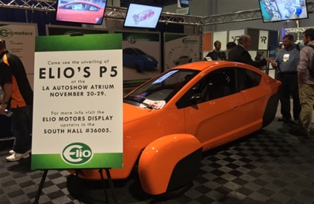 Photo courtesy of Elio Motors.