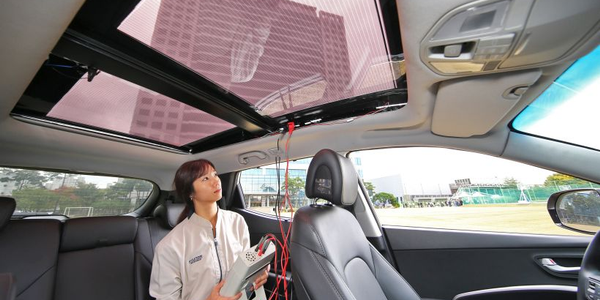 Hyundai and Kia will offer a solar roor charging system with certain vehicles after 2019.
