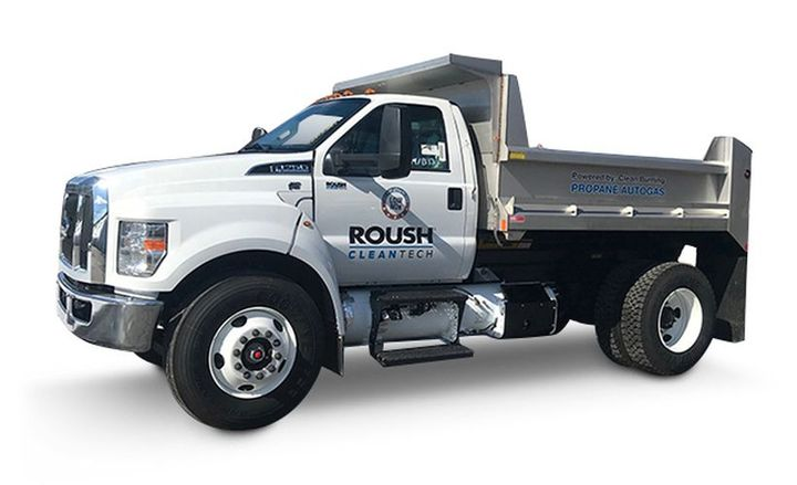 Roush CleanTech is hosting a road-show event to demonstrate its near-zero emissions propane vehicles available to California fleets.