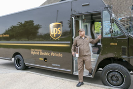EPA Recognizes UPS for Fleet Sustainability