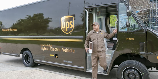 UPS has been recognized for its fleet sustainability efforts by the EPA through its SmartWay...
