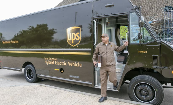 UPS has been recognized for its fleet sustainability efforts by the EPA through its SmartWay program.