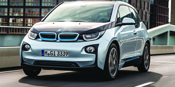 ELECTRIC BMW's i3 is part of automaker's new isub-brand. the body consists of light weight...