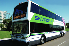 Enviro500 Hybrid Double Deck Transit Bus