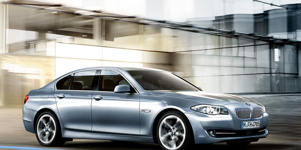 The BMW ActiveHybrid 5 features an inline six-cylinder engine, an 8-speed automatic...