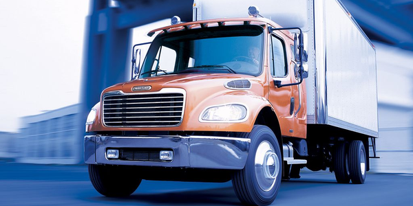 The Freightliner M2 106 hybrid fits high stop-and-go applications and vocational applications....
