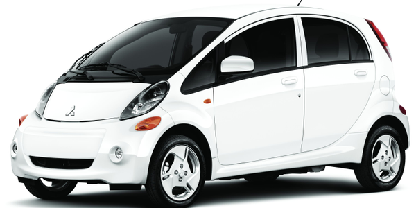 The all-electric Mitsubishi i FE model comes standard with three levels of charging and EPA...