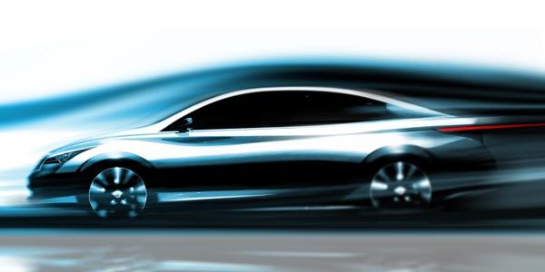Infiniti Reveals Sketch of Future Zero-Emissions Vehicle