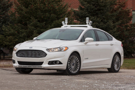 2013 Ford Fusion Hybrid Crash Test