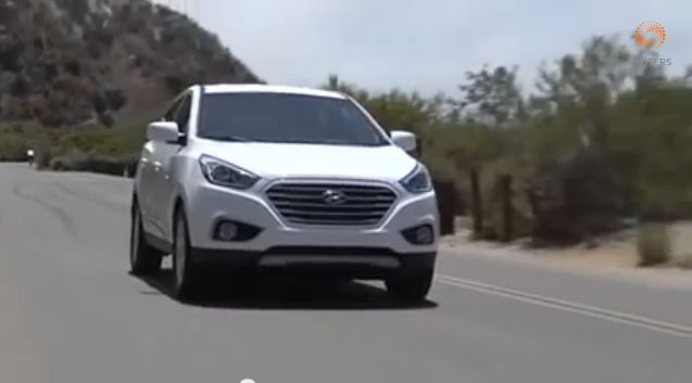 Hyundai's Hydrogen Fuel Cell Tucson Arrives