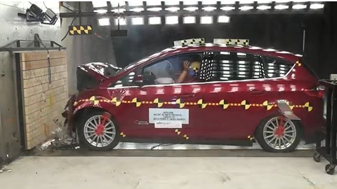 2013 Ford C-MAX Energi Hatchback Crash Test