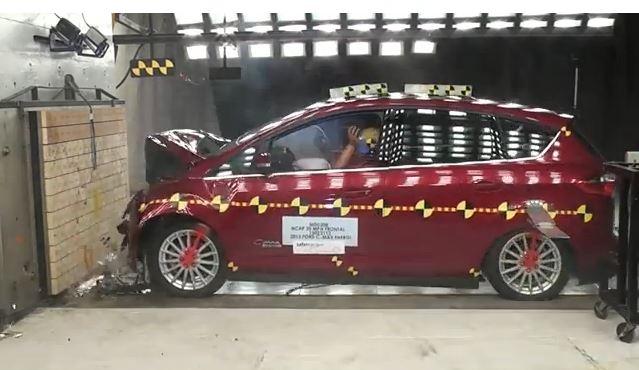 2013 Ford C-MAX Energi Hatchback Crash Test