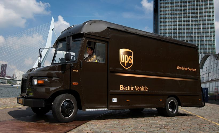 Large fleets gave three reasons why they haven't moved forward with electrified vehicles.  - Photo courtesy of UPS.