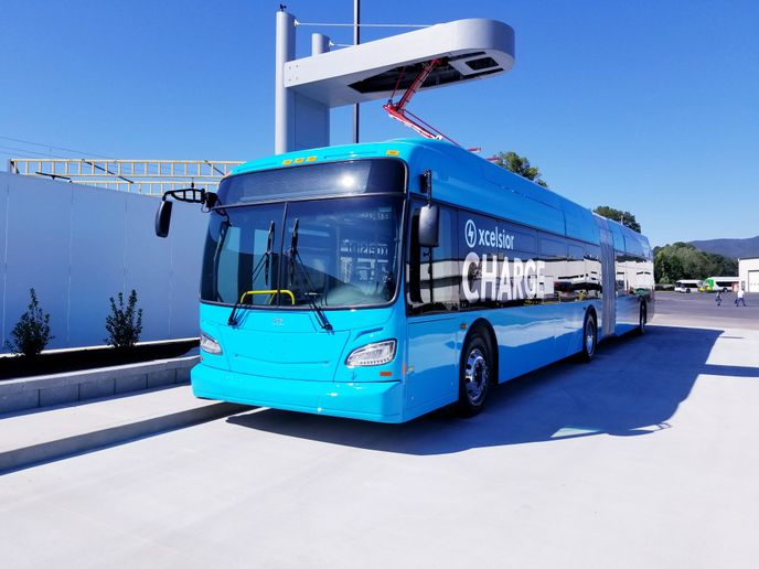 The vision, in Canada at least, is to have some 5,000 electric buses on the road by the year 2025. - New Flyer