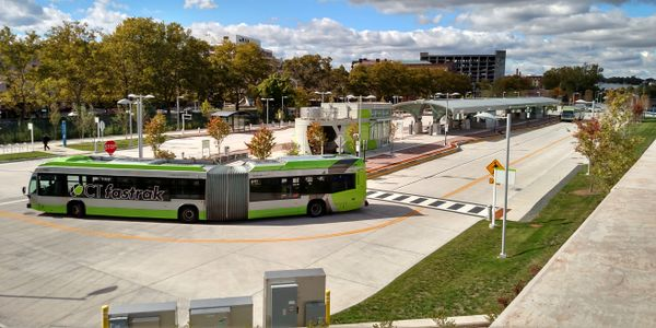 The automated buses will operate on the CTfastrak bus rapid transit guideway — a 9.4-mile...
