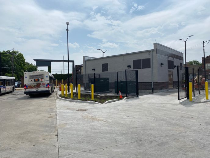 CTA and Proterra thoughtfully planned and designed the Austin Terminal to be able to hold additional charger capacity. - Proterra