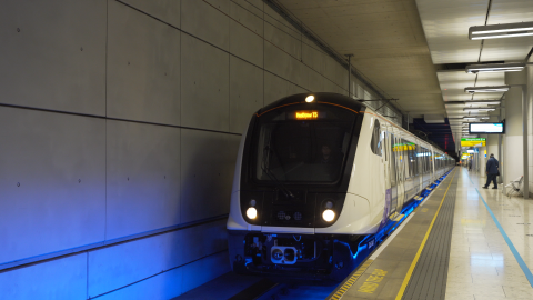 A new rail line in London, Crossrail, will help ease a transit system and will carry 200 million...