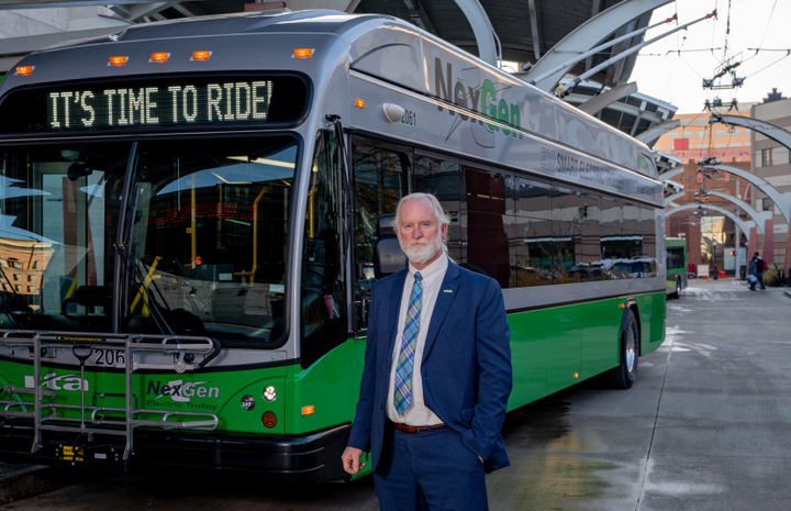 After 45 years in the industry, Greater Dayton RTA CEO Mark Donaghy will retire, effective April 1. - Greater Dayton RTA