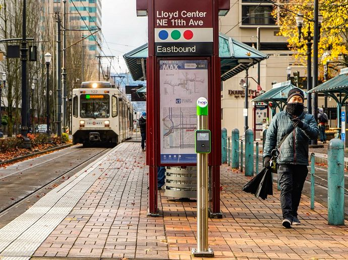 From the earliest stages of the pandemic, Portland, Ore.'s, TriMet has followed the guidance and recommendations of the Oregon Health Authority, which is informed by the CDC. - TriMet